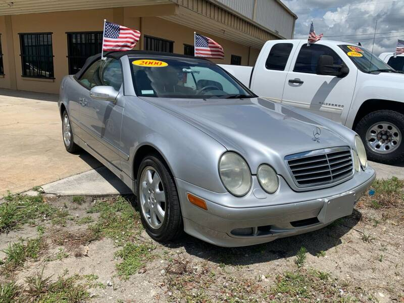 2000 Mercedes-Benz CLK for sale at Eastside Auto Brokers LLC in Fort Myers FL