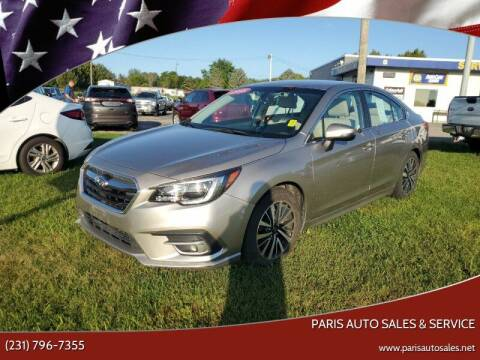 2018 Subaru Legacy for sale at Paris Auto Sales & Service in Big Rapids MI