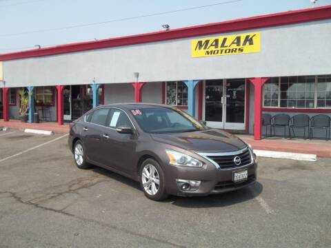 2014 Nissan Altima for sale at Atayas Motors INC #1 in Sacramento CA