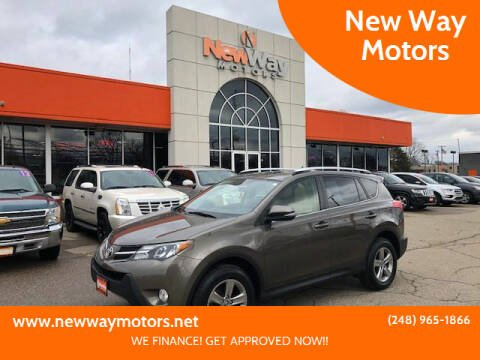 2015 Toyota RAV4 for sale at New Way Motors in Ferndale MI