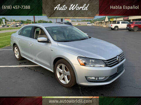 2015 Volkswagen Passat for sale at Auto World in Carbondale IL