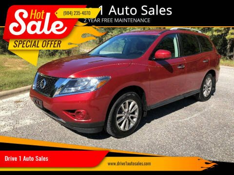 2014 Nissan Pathfinder for sale at Drive 1 Auto Sales in Wake Forest NC