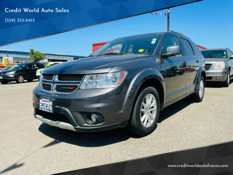 2015 Dodge Journey for sale at Credit World Auto Sales in Fresno CA