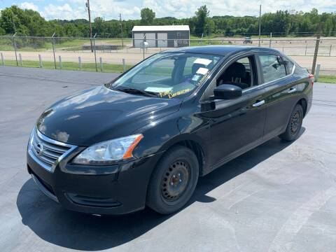 2013 Nissan Sentra for sale at American Motors Inc. - Cahokia in Cahokia IL