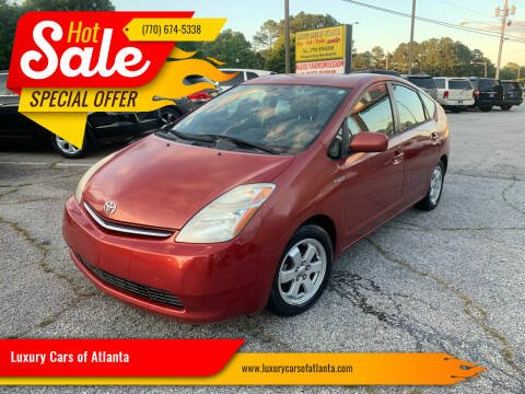 2006 Toyota Prius for sale at Luxury Cars of Atlanta in Snellville GA