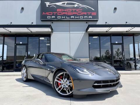 2014 Chevrolet Corvette for sale at Exotic Motorsports of Oklahoma in Edmond OK