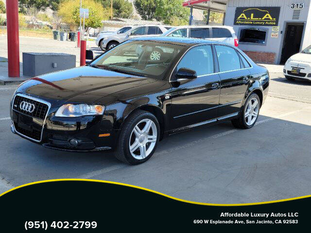 2008 Audi A4 for sale at Affordable Luxury Autos LLC in San Jacinto CA
