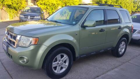 2008 Ford Escape Hybrid for sale at Carspot Auto Sales in Sacramento CA