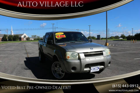 2004 Nissan Frontier for sale at AUTO VILLAGE LLC in Lebanon TN
