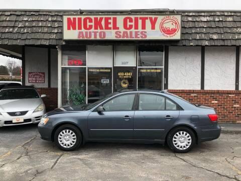 2009 Hyundai Sonata for sale at NICKEL CITY AUTO SALES in Lockport NY