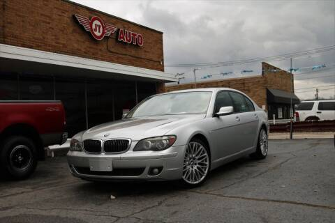2008 BMW 7 Series for sale at JT AUTO in Parma OH