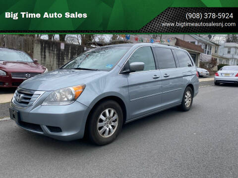 2009 Honda Odyssey for sale at Big Time Auto Sales in Vauxhall NJ
