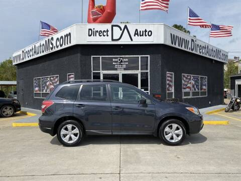 2016 Subaru Forester for sale at Direct Auto in D'Iberville MS