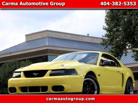 2002 Ford Mustang for sale at Carma Auto Group in Duluth GA