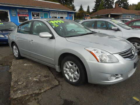 2012 Nissan Altima for sale at Lino's Autos Inc in Vancouver WA