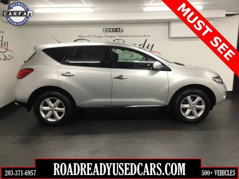 2010 Nissan Murano for sale at Road Ready Used Cars in Ansonia CT