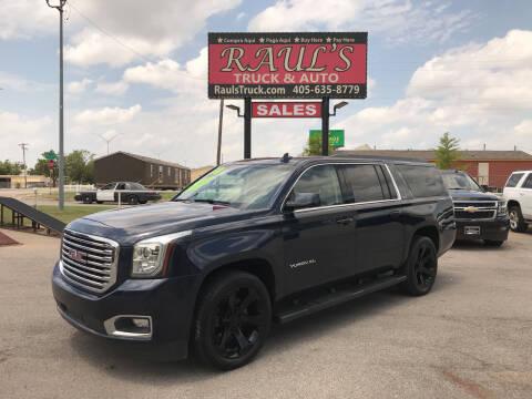 2018 GMC Yukon XL for sale at RAUL'S TRUCK & AUTO SALES, INC in Oklahoma City OK