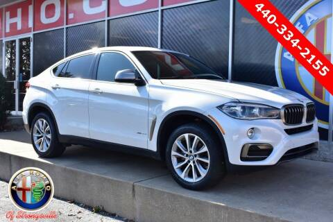 2018 BMW X6 for sale at Alfa Romeo & Fiat of Strongsville in Strongsville OH