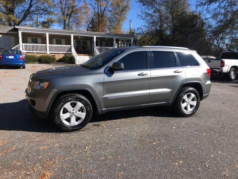 2013 Jeep Grand Cherokee for sale at Dorsey Auto Sales in Anderson SC