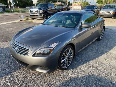 2014 Infiniti Q60 Convertible for sale at Velocity Autos in Winter Park FL
