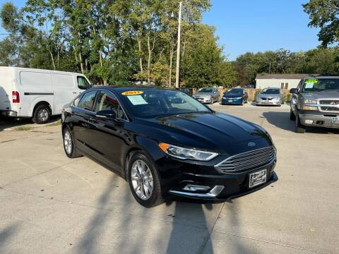 2017 Ford Fusion for sale at Zacatecas Motors Corp in Des Moines IA