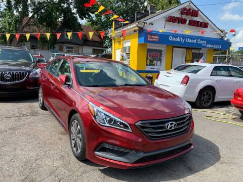 2015 Hyundai Sonata for sale at C & M Auto Sales in Detroit MI