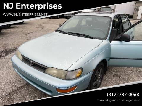 1995 Toyota Corolla for sale at NJ Enterprises in Indianapolis IN