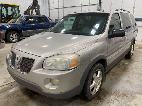 2006 Pontiac Montana SV6 for sale at RDJ Auto Sales in Kerkhoven MN
