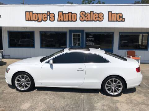 2014 Audi A5 for sale at Moye's Auto Sales Inc. in Leesburg FL