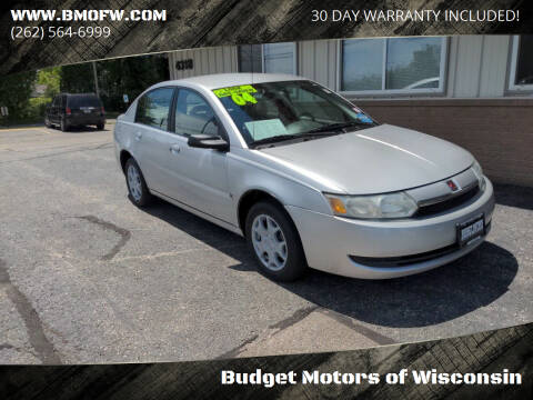 2004 Saturn Ion for sale at Budget Motors of Wisconsin in Racine WI