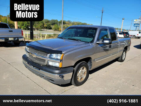 2003 Chevrolet Silverado 1500 for sale at Bellevue Motors in Bellevue NE