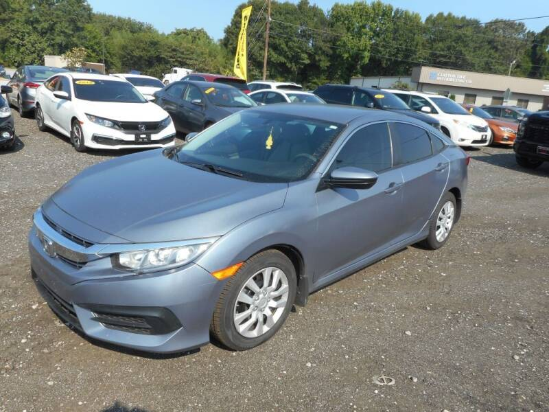 2018 Honda Civic for sale at Auto Center Elite Vehicles LLC in Spartanburg SC