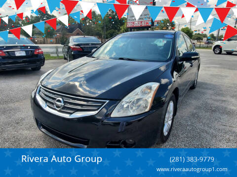 2010 Nissan Altima for sale at Rivera Auto Group in Spring TX