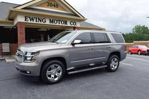 2017 Chevrolet Tahoe for sale at Ewing Motor Company in Buford GA
