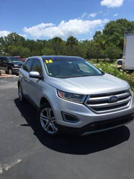 2016 Ford Edge for sale at DUNEDIN AUTO SALES INC in Dunedin FL