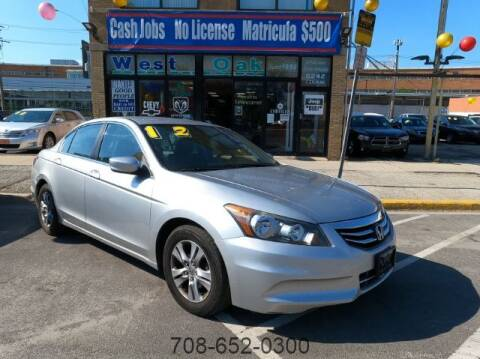 2012 Honda Accord for sale at West Oak in Chicago IL