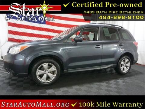 2015 Subaru Forester for sale at STAR AUTO MALL 512 in Bethlehem PA