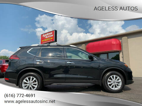 2018 Nissan Rogue for sale at Ageless Autos in Zeeland MI
