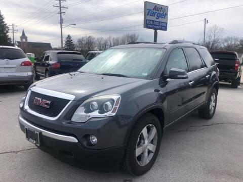 2011 GMC Acadia for sale at Auto Target in O'Fallon MO