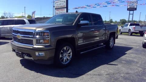 2015 Chevrolet Silverado 1500 for sale at Premier Auto Sales Inc. in Big Rapids MI
