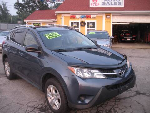 2014 Toyota RAV4 for sale at One Stop Auto Sales in North Attleboro MA