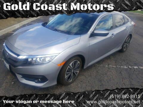 2017 Honda Civic for sale at Gold Coast Motors in Lemon Grove CA