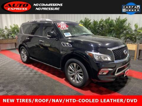 2017 Infiniti QX80 for sale at Auto Express in Lafayette IN