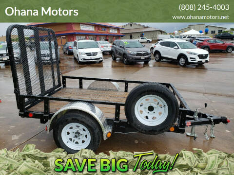 2020 PJ TRAILER U6081 for sale at Ohana Motors in Lihue HI