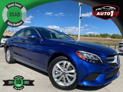 2019 Mercedes-Benz C-Class for sale at Street Smart Auto Brokers in Colorado Springs CO