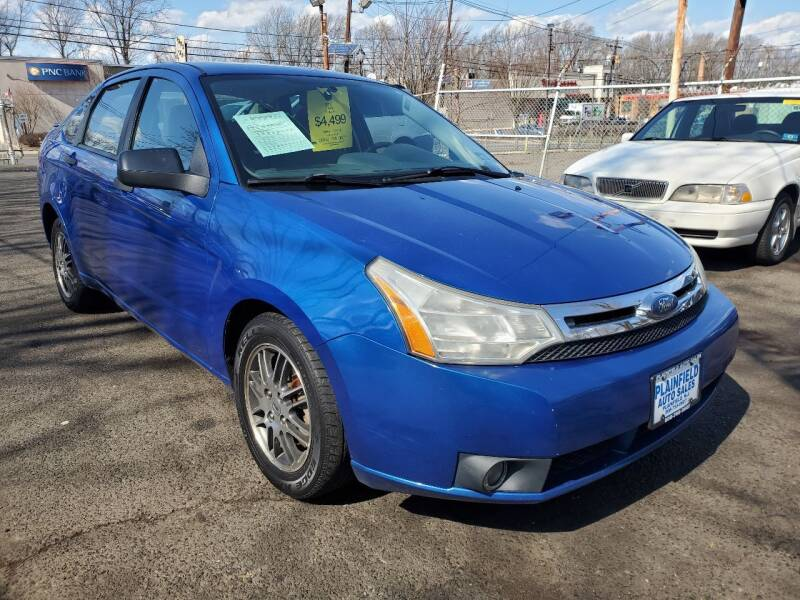 2010 Ford Focus for sale at New Plainfield Auto Sales in Plainfield NJ