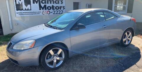 2007 Pontiac G6 for sale at Mama's Motors in Greer SC