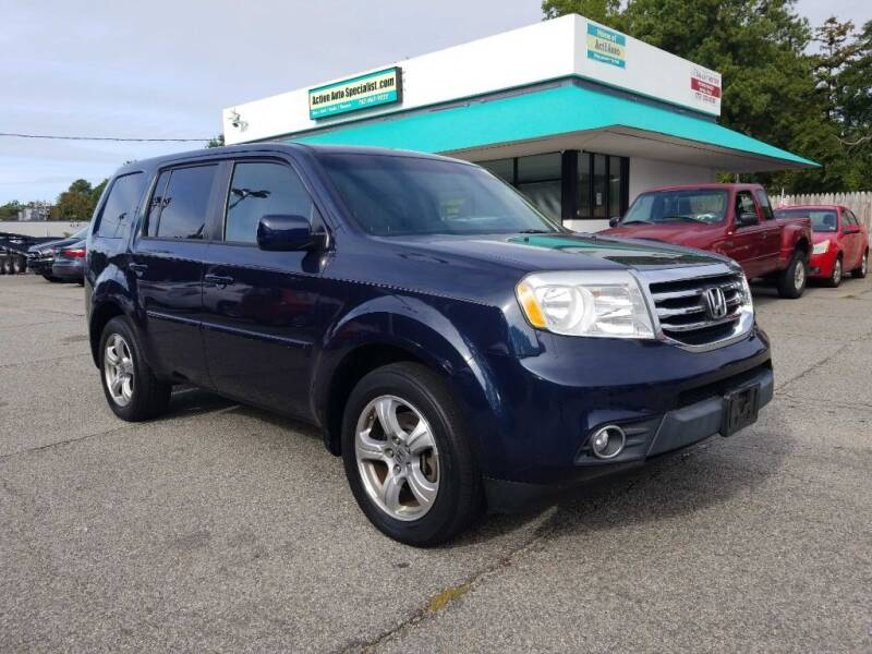 2012 Honda Pilot for sale at Action Auto Specialist in Norfolk VA