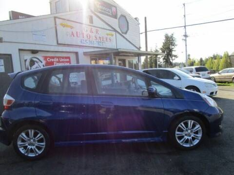 2009 Honda Fit for sale at G&R Auto Sales in Lynnwood WA