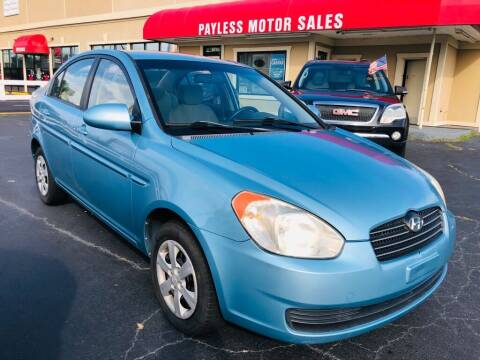 2009 Hyundai Accent for sale at Payless Motor Sales LLC in Burlington NC